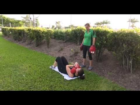Fitness Institute - Outdoor PT Exercises Boxing and Core - Become a PT in Australia