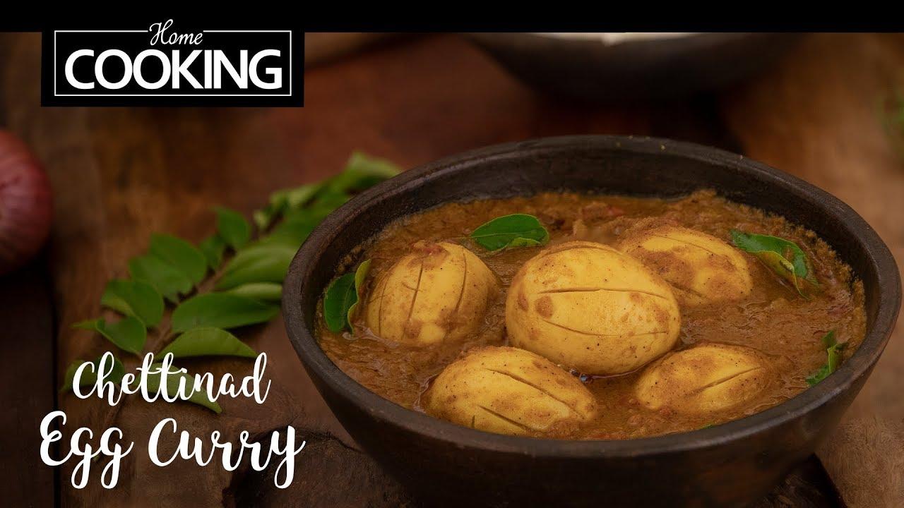 Chettinad Egg Curry | Egg Recipes | Egg Curry
