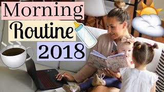 MORNING ROUTINE - YOUTUBE MOM OF 2 | MOMMY MORNING ROUTINE 2018 | Tara Henderson
