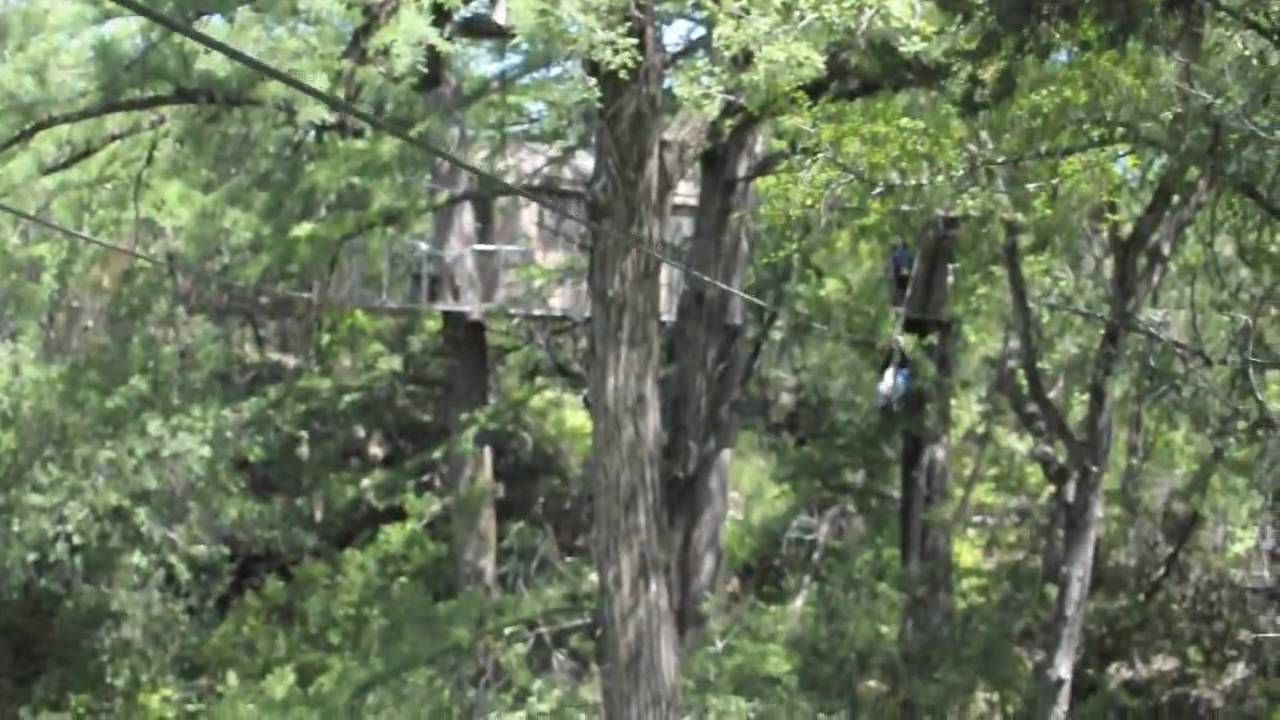 Cypress Valley Canopy Tours Austin Texas Youtube