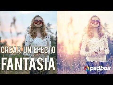 Paso a Paso - Crea efectos de luz y fantasia en tus fotos