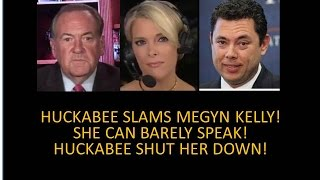 Video Clip That Got Trump Elected! Huckabee Slams Megyn! Shut Kelly Down Like Donald Trump Jr. Did!