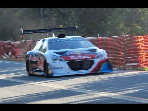 WRC Champ Sebastien Loeb Attacks the 2013 Pikes Peak International Hill Climb