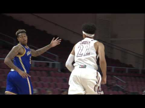 2017 WAC tourney MBB Semifinals NM State vs. UMKC highlights