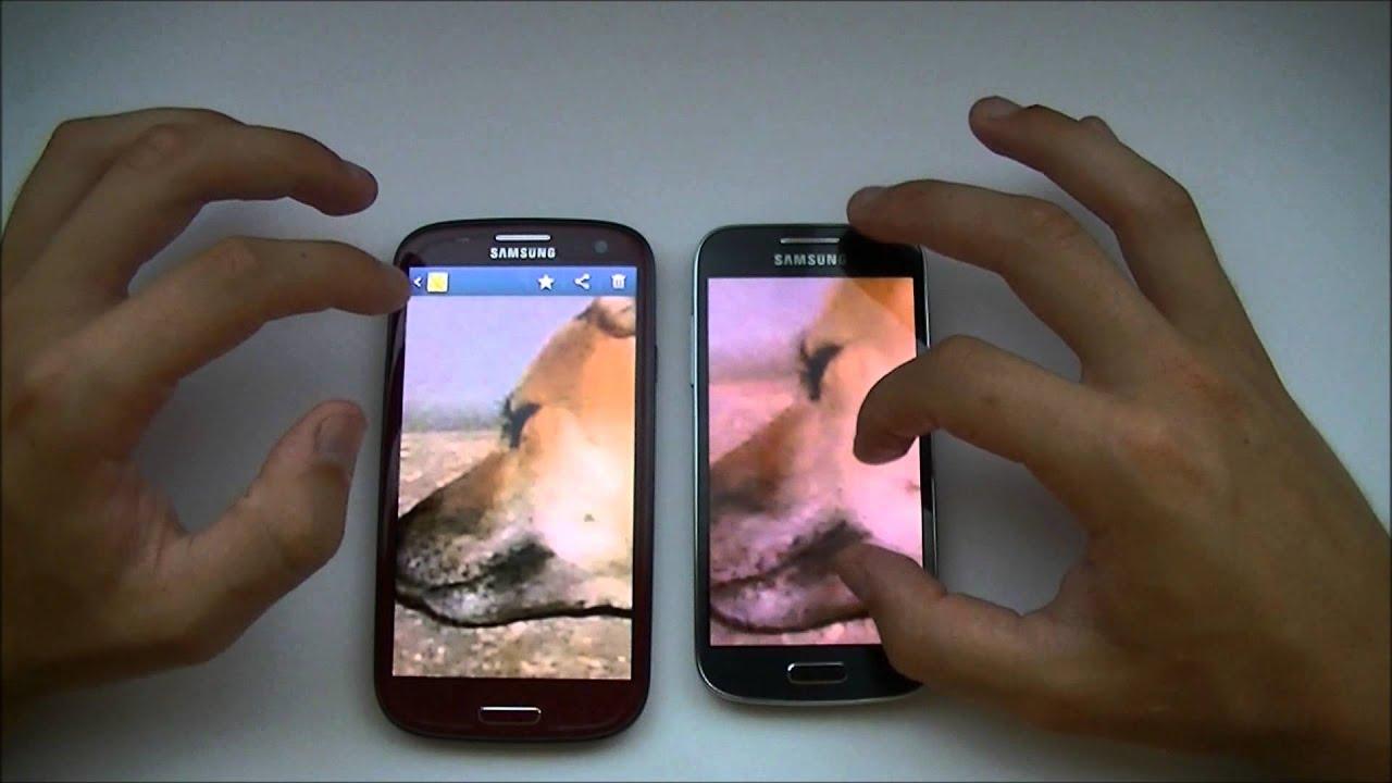 Samsung s4 mini vs s3