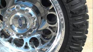 2010 FORD F450 LIFTED CREW CAB 4X4 DIESEL TRUCK FOR SALE