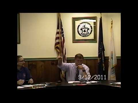 Champlain Village Board Meeting 9-12-11