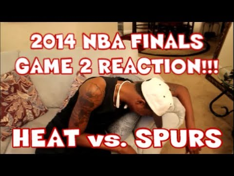 2014 NBA Finals: Game 2 LIVE Reaction!!!