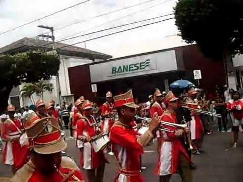 BANDA MARCIAL DO ATHENEU SERGIPENSE NA BARÃO DE MARUIM 2011