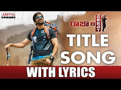 Raja-The-Great-Title-Song-With-Lyrics----Raja-The-Great-Songs