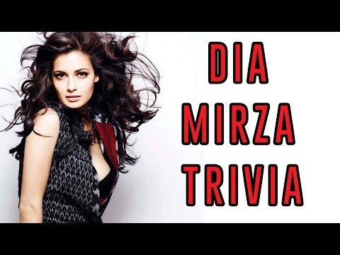 Dia Mirza Trivia