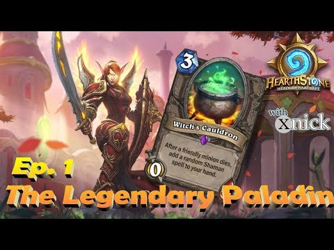Hearthstone, Ep. 1: The Legendary Paladin