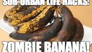 Trik Merubah pisang yang telah terlihat kehitaman