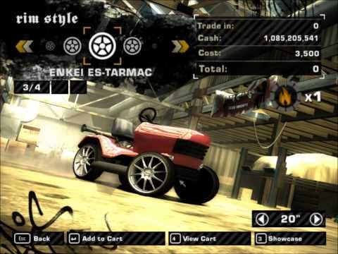 Need For Speed Most Wanted Lawnmower (2012) Mod [HD],