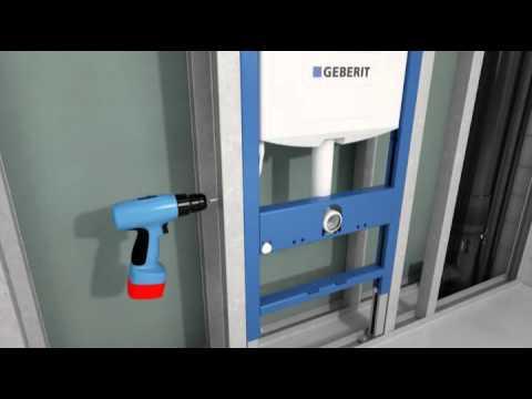 Geberit 1.12 Duofix - instalacja, montaż