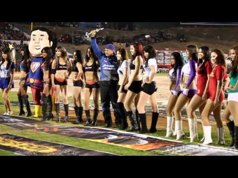 Edecanes en Monster Showdown @ Estadio Cerro Colorado Tijuana [HD]