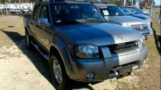 2002 NISSAN FRONTIER SE CREW CAB 4X4 * FOR SALE @ RAVENEL FORD videos