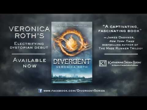 DIVERGENT by Veronica Roth - Book Trailer, A dystopian tale of electrifying decisions, stunning consequences, heartbreaking betrayals, and unexpected romance. Visit http://www.facebook.com/divergentse...