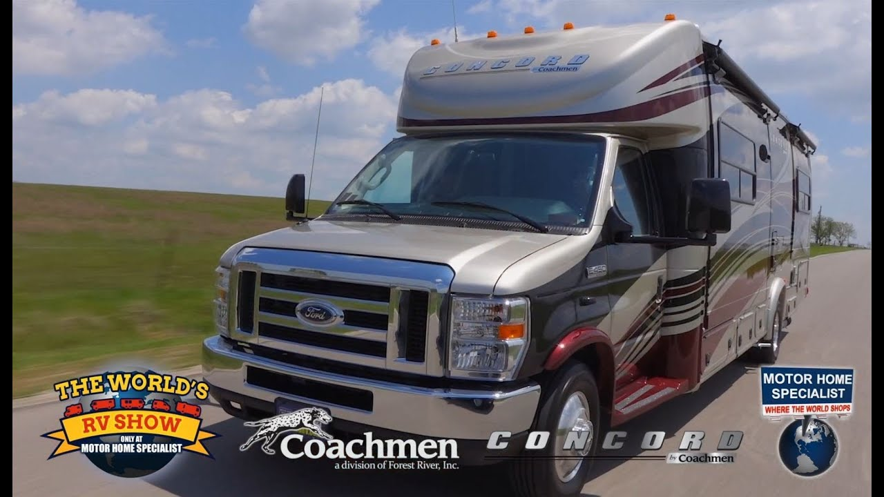 2015 coachmen concord review at motor home specialist for Motor home specialist reviews
