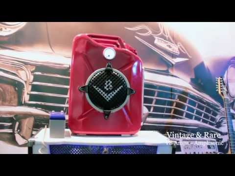 V8 Boutique Amplifiers / T.A.N.K / Amplisonic Ltd / Vintage & Rare TV / Frankfurt 2013