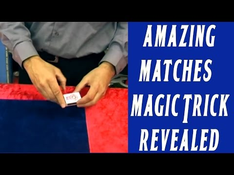 Amazing Matches Magic Trick Revealed