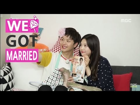 [ENG SUB-We got Married4] 우리 결혼했어요 - SungJae, wears lipstick, explosion of acting charming 20150725