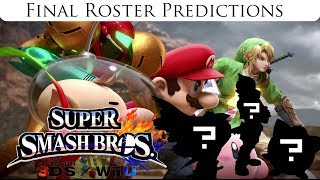 Super Smash Bros. (Wii U/3DS) Final Roster Predictions