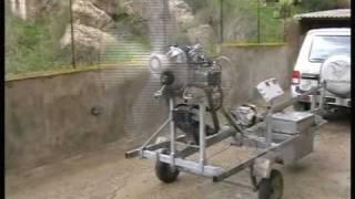 Verner Motor 133MK Run Test By GP Aero Engines
