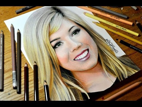 Drawing Jennette McCurdy