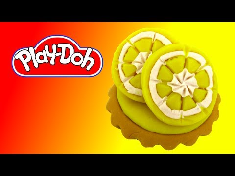 How to make Lemon Tart out of Play-Doh