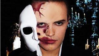 The Phantom Of The Opera Makeup Tutorial!
