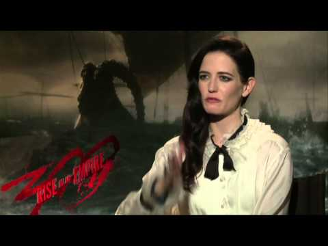 300: Rise of an Empire (2014) Exclusive Eva Green Interview [HD]