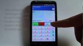 Ersteinrichtung der mobilen Zeiterfassung GeBIThandy
