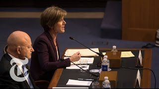 Sally Yates Testifies About Michael Flynn, Russia and President Trump (Full) | The New York TImes