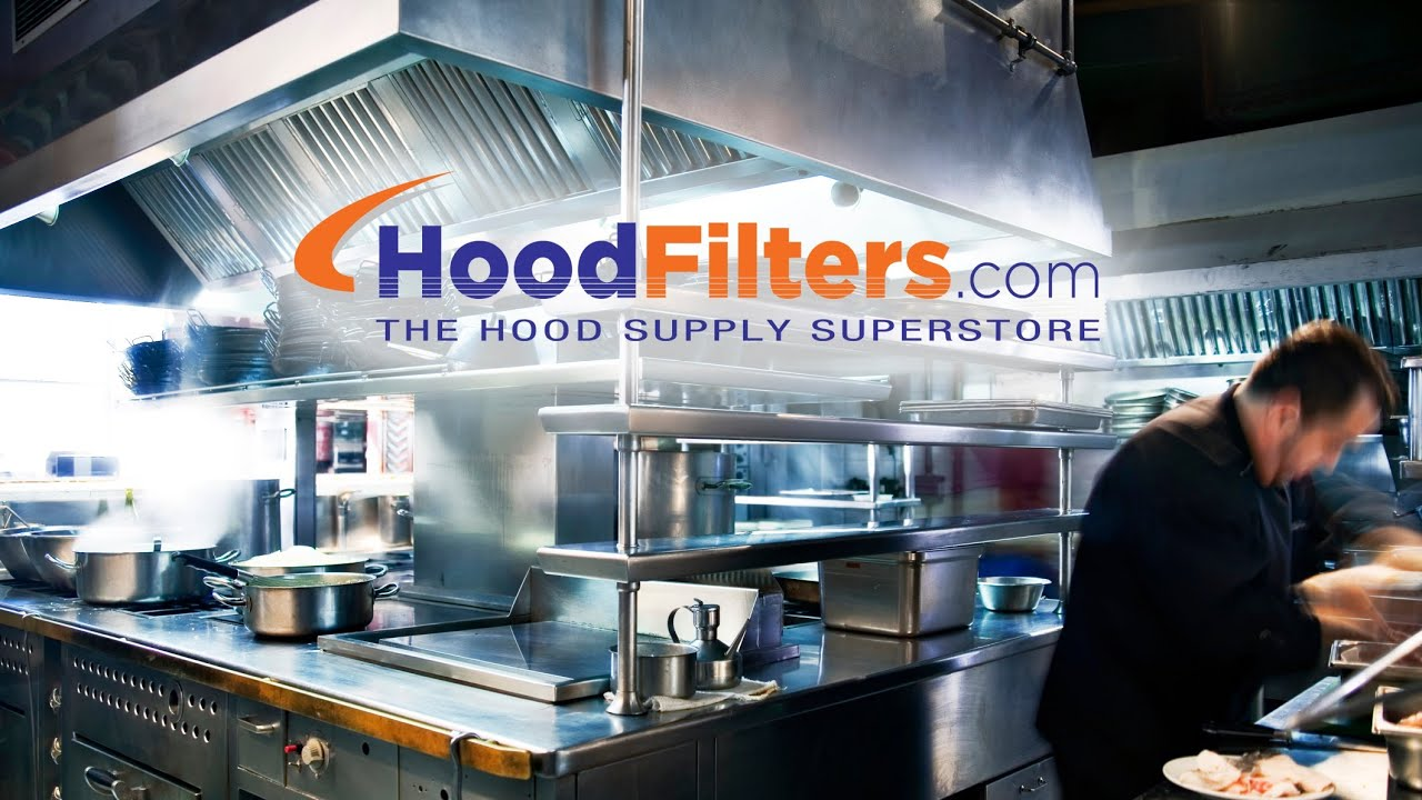 Exhaust Hood Filters Commercial Kitchen Exhaust Supplies Youtube