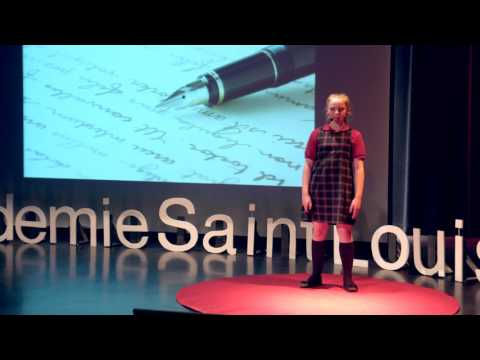 L'évolution du téléphone cellulaire   Annabelle Pothier   TEDxAcademieSaintLouis