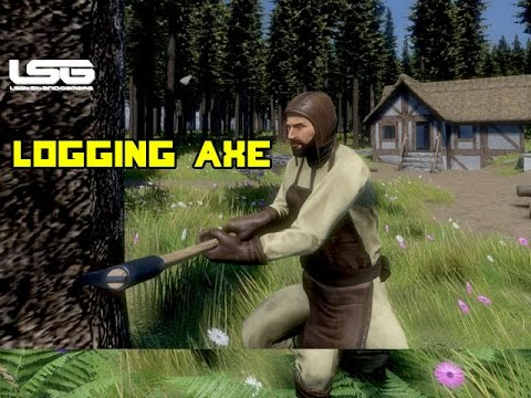 Medieval Engineers - Timber !!!, Logging Axe Update