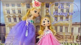 Búp bê baby doll - Chibi tím trở về thời kỳ cổ tích gặp hoàng tử - A195V Nữ hoàng băng giá