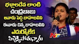 Roja calls Chandrababu as Bhallaladeva, YS Jagan a Baahuba..
