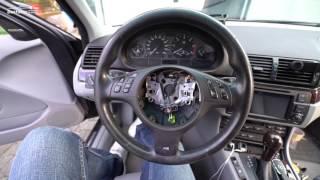 Устанавливаем новый М руль на BMW /// E46 /// 330d Денис Рем Дестакар