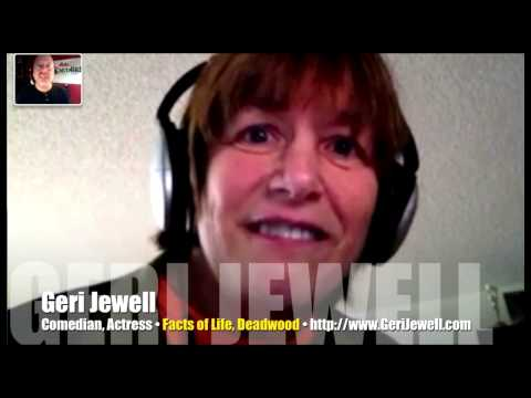 Cerebral Palsy never derailed comedian Geri Jewell's determination! (Interview)