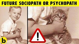 5 Signs of a Future Sociopath or Psychopath