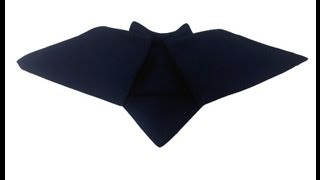 bat halloween napkin plegado servilletas halloween murcilago youtube