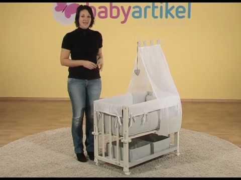 roba 4in1 stubenbett babysitter youtube. Black Bedroom Furniture Sets. Home Design Ideas