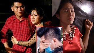 Sau đêm tân hôn, Lê Phương than kiệt sức còn Trung Kiên thì phải giấu kín khuôn mặt vậy đây...