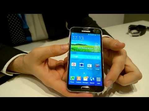 MWC 14: Samsung Galaxy S5  & Co (contacto y características)