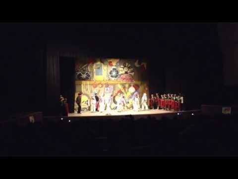 Macehuanicoyotl. Danza de Negros de Tlaxcala. Encuentro Escolar de Danza. Distrital. Junio 11, 2013.