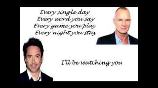 Every Breath You Take By Robert Downey Junior & Sting