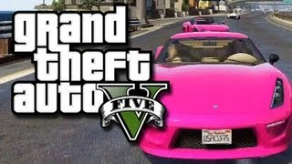 GTA 5 Races!  Funny Moments, Crashes, and Fights!  (GTA V Online Multiplayer Gameplay)