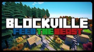 Blockville FTB: iJevin's Vending Machine Service! (S3E9)